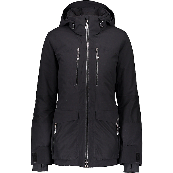 Obermeyer Clara Womens Insulated Ski Jacket, Black, 600