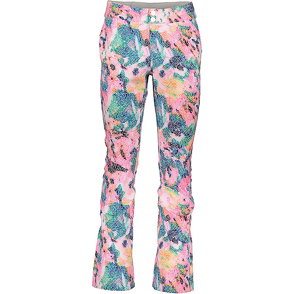 Obermeyer Printed Bond Short Womens Ski Pants, First Impressions, 600