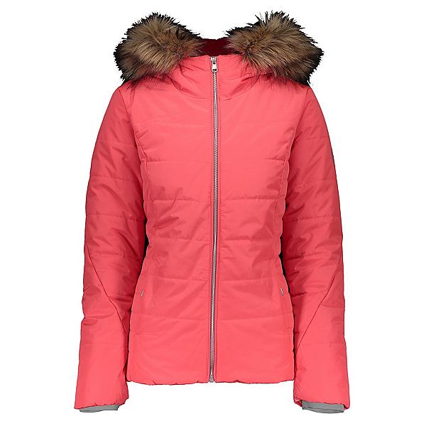 Obermeyer Bombshell Womens Insulated Ski Jacket, Haute Coral, 600