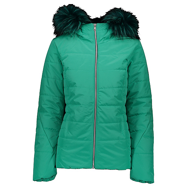 Obermeyer Bombshell Womens Insulated Ski Jacket, Lets Galapago, 600