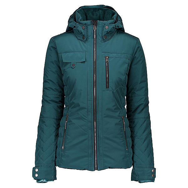 Obermeyer Leighton Womens Insulated Ski Jacket, Jaspen, 600