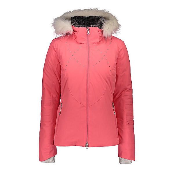 Obermeyer Evanna Down Womens Insulated Ski Jacket 2020, Haute Coral, 600