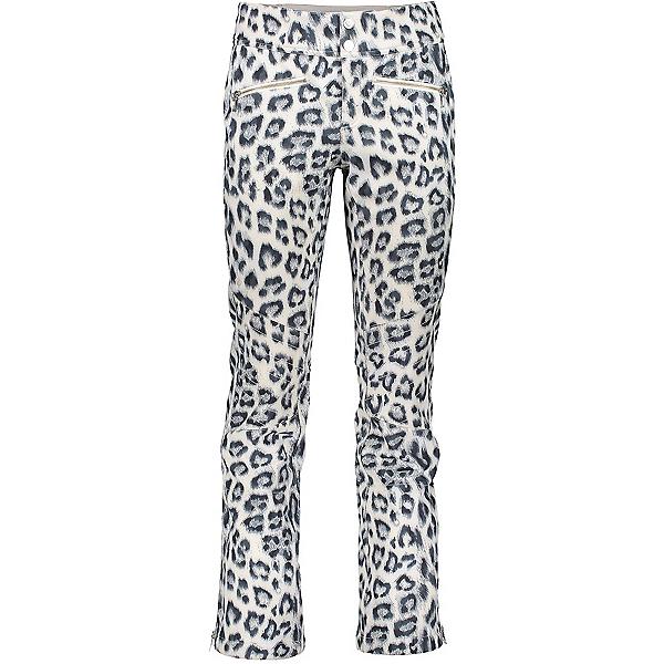 Obermeyer Printed Clio Softshell - Short Womens Ski Pants, Untamed, 600