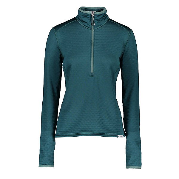 Obermeyer Paola Fleece Pullover Womens Mid Layer, Jaspen, 600
