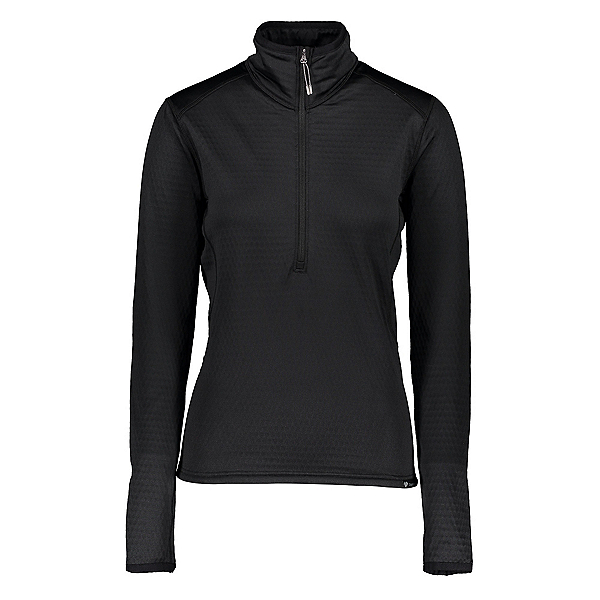 Obermeyer Paola Fleece Pullover Womens Mid Layer, Black, 600