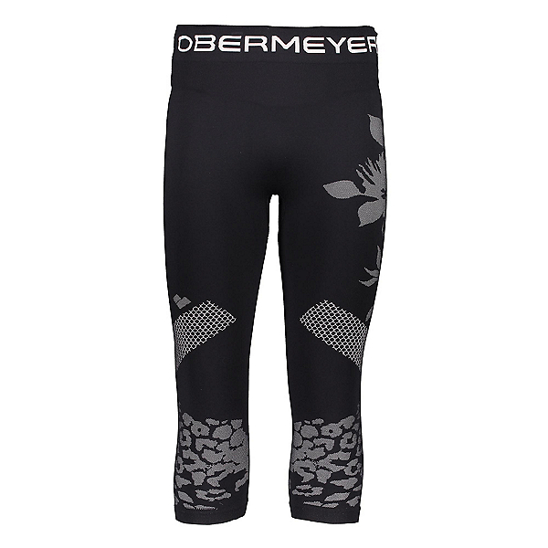 Obermeyer Glaze Baselayer Tight Womens Long Underwear Pants, Black, 600