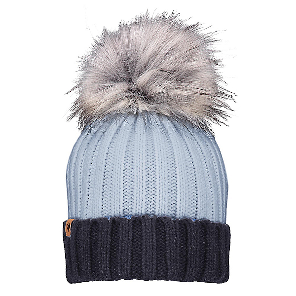 Obermeyer Denver Faux Fur Pom Womens Hat, Ice Ice Baby, 600