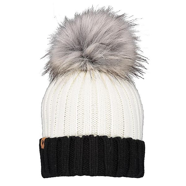 Obermeyer Denver Faux Fur Pom Womens Hat 2020, White, 600