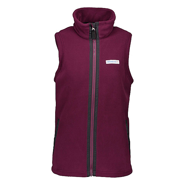 Obermeyer Jana Fleece Womens Vest 2020, Drop The Beet, 600