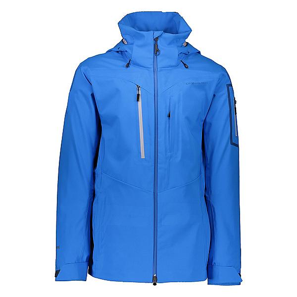 Obermeyer Foraker Mens Shell Ski Jacket, Blue Vibes, 600