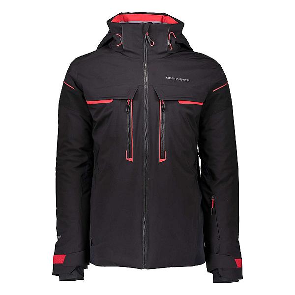 Obermeyer Charger Mens Insulated Ski Jacket 2020, Black, 600