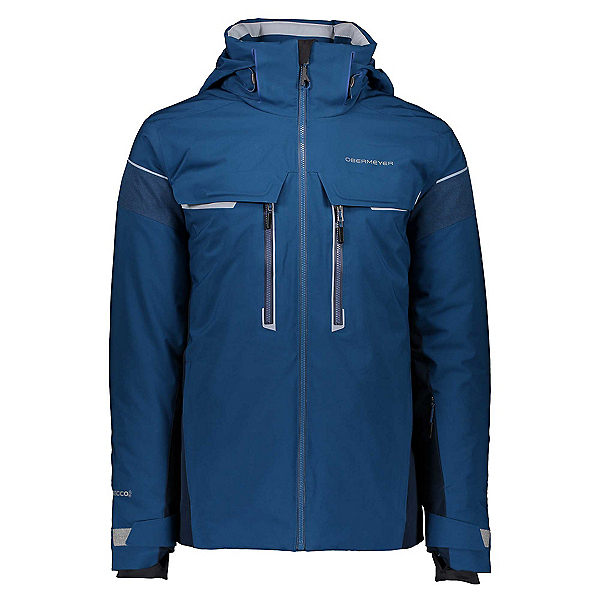 Obermeyer Charger Tall Mens Insulated Ski Jacket, Passport, 600