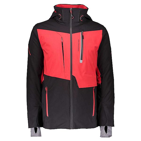 Obermeyer Kodiak Mens Insulated Ski Jacket, Brakelight, 600