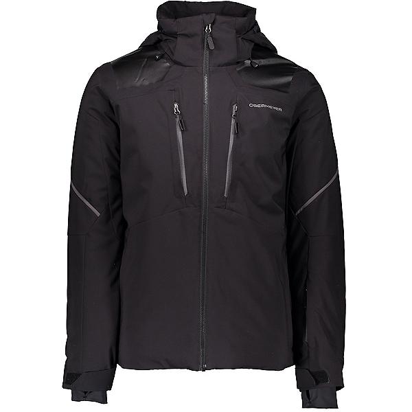 Obermeyer Foundation Mens Insulated Ski Jacket, Black, 600