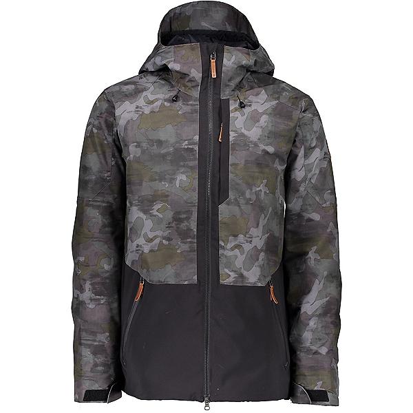 Obermeyer Chandler Mens Shell Ski Jacket, Off Duty Camo, 600