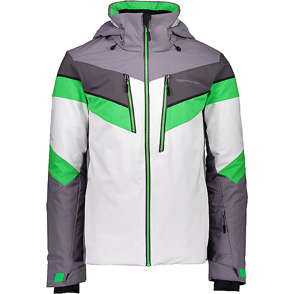 Obermeyer Chroma Mens Insulated Ski Jacket 2020, Northern Lights, 600