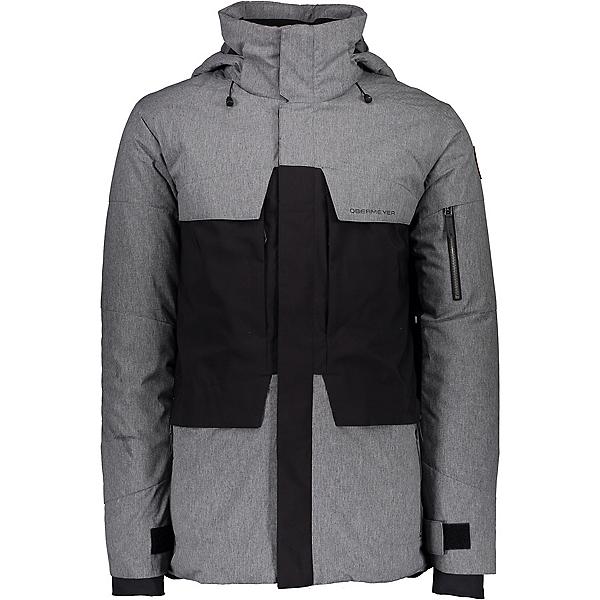 Obermeyer Scout Mens Insulated Ski Jacket, Knight Black, 600