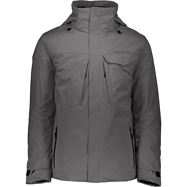 Obermeyer Trilogy System Mens Insulated Ski Jacket, Gun Powder, 600