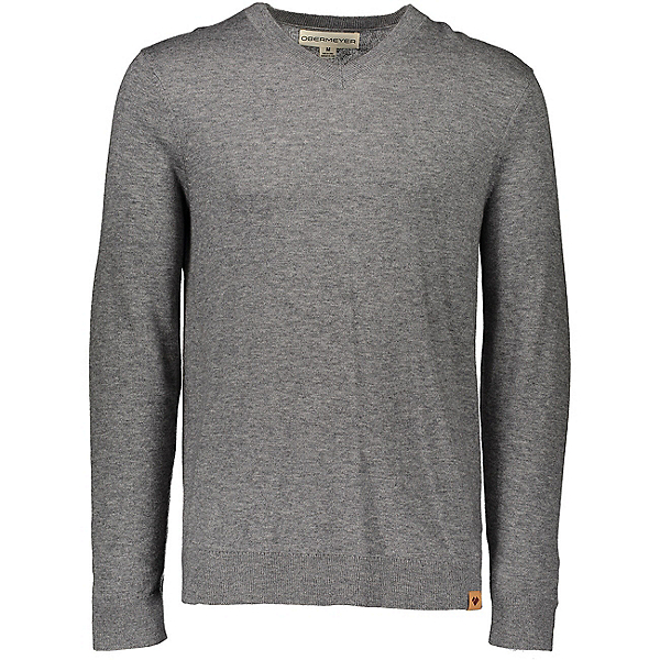 Obermeyer Mason V-Neck Mens Sweater 2020, Anchor, 600