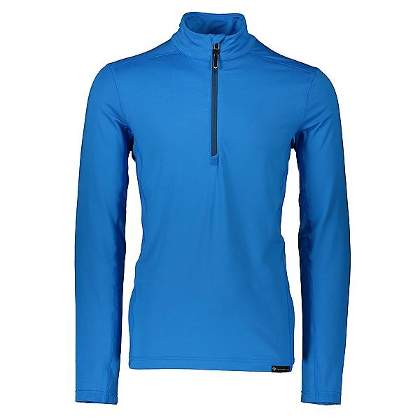 Obermeyer Lean 1/2 Zip Mens Long Underwear Top 2020, Blue Vibes, 600