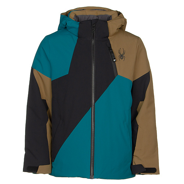 Spyder Ambush Boys Ski Jacket 2020, Swell, 600
