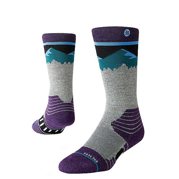 Stance Ridge Line Kids Snowboard Socks, , 600
