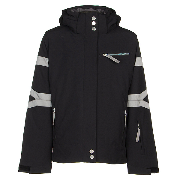 Spyder Podium Girls Ski Jacket, Black, 600