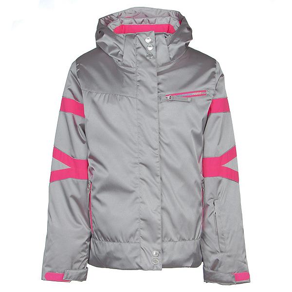 Spyder Podium Girls Ski Jacket 2020, Silver, 600