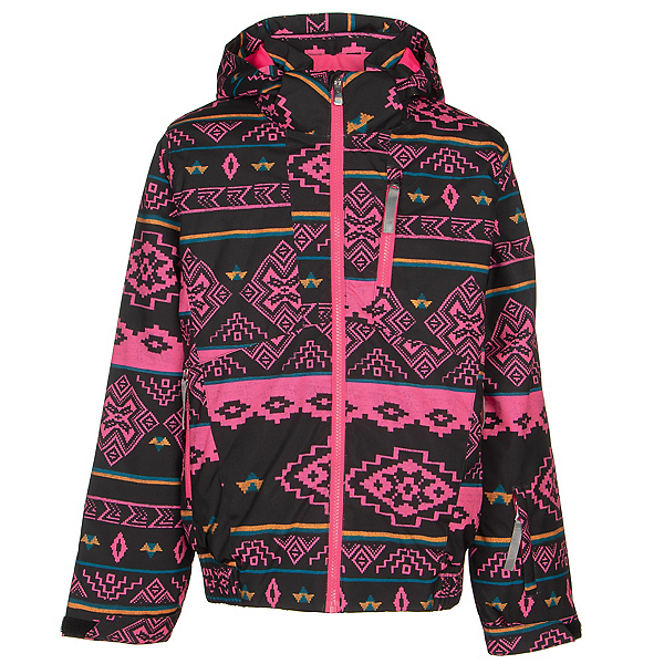 Spyder Lola Girls Ski Jacket 2020, Sweater Weather, 600