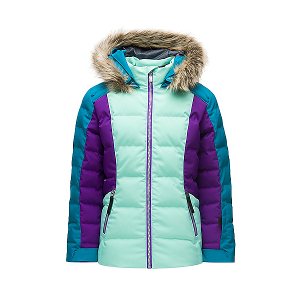 Spyder Atlas Synthetic Down Girls Ski Jacket 2020, , 600