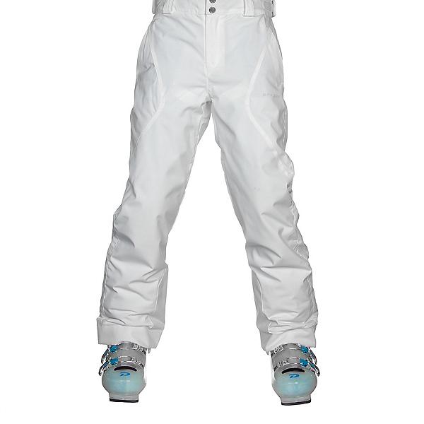 Spyder Olympia Girls Ski Pants, White, 600
