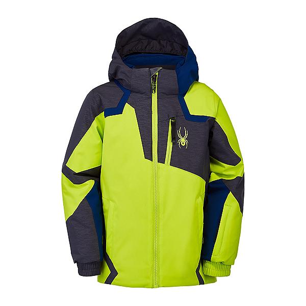 Spyder Mini Leader Toddler Ski Jacket, Sharp Lime, 600