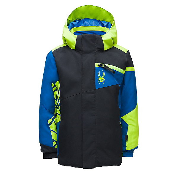 Spyder Mini Challenger Toddler Ski Jacket 2020, Black, 600