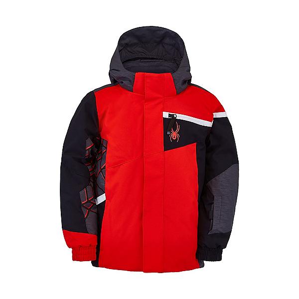 Spyder Mini Challenger Toddler Ski Jacket, Volcano, 600
