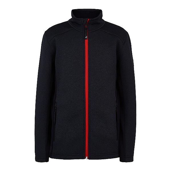 Spyder Encore Full Zip Kids Sweater, Black, 600