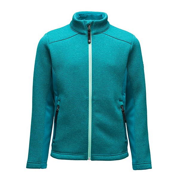 Spyder Encore Full Zip Girls Sweater, Swell, 600