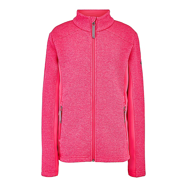 Spyder Encore Full Zip Girls Sweater 2021, Bryte Bubblegum, 600