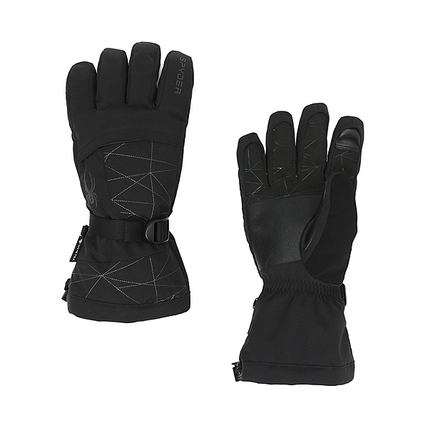 Spyder Overweb GTX Gloves, Black, 600