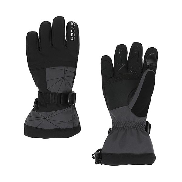 Spyder Overweb Kids Gloves, Ebony, 600