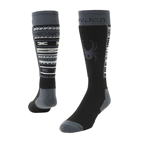 Spyder Sweep Ski Socks, Black, 600