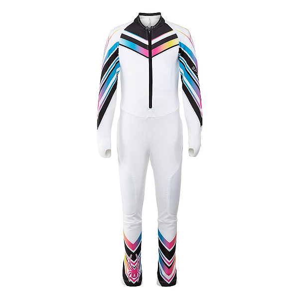 Spyder Girls Nine Ninety Race Suit, White, 600
