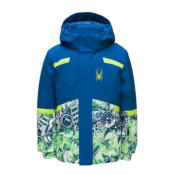 Spyder Mini Kitz Toddler Ski Jacket, Daffy-Old Glory, 600