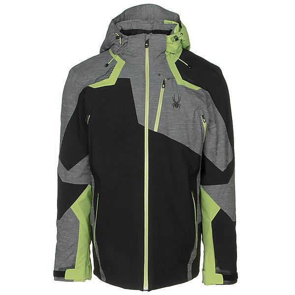 Spyder Leader GTX Mens Insulated Ski Jacket 2020, Black-Ebony, 600