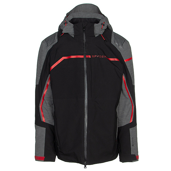 Spyder Titan GTX Mens Insulated Ski Jacket, Black, 600