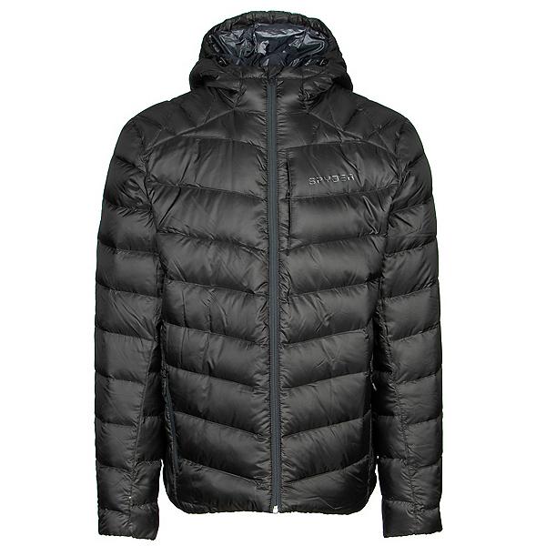 Spyder Timeless Hoodie Down Mens Jacket 2020, Black, 600