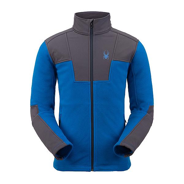 Spyder Basin Full Zip Fleece Mens Jacket 2020, Old Glory, 600