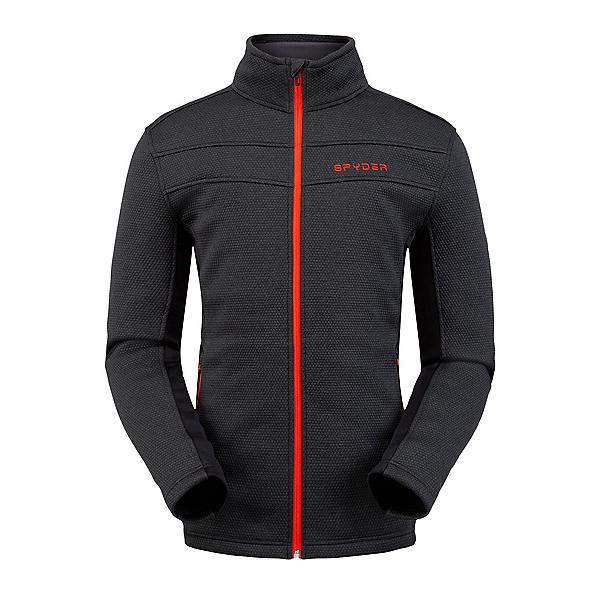 Spyder Encore Full Zip Fleece Mens Jacket, Black, 600