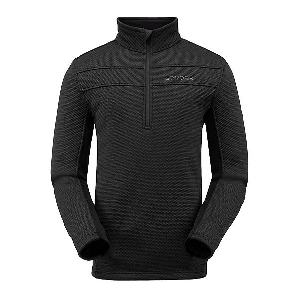 Spyder Encore Half Zip Fleece Mens Jacket 2022, Black, 600