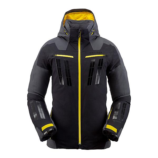 Spyder Monterosa GTX Mens Insulated Ski Jacket, Black-Ebony, 600