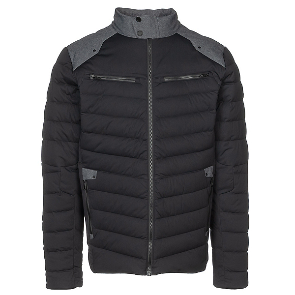 Spyder Alpine Stretch Down Mens Jacket, Black, 600